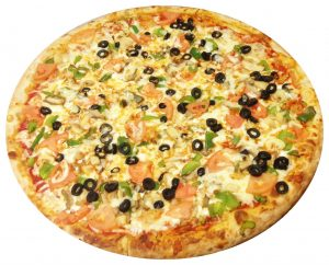 DeNiros-Pizza-Specialty-Pizza's-Veggie-Pizza-image