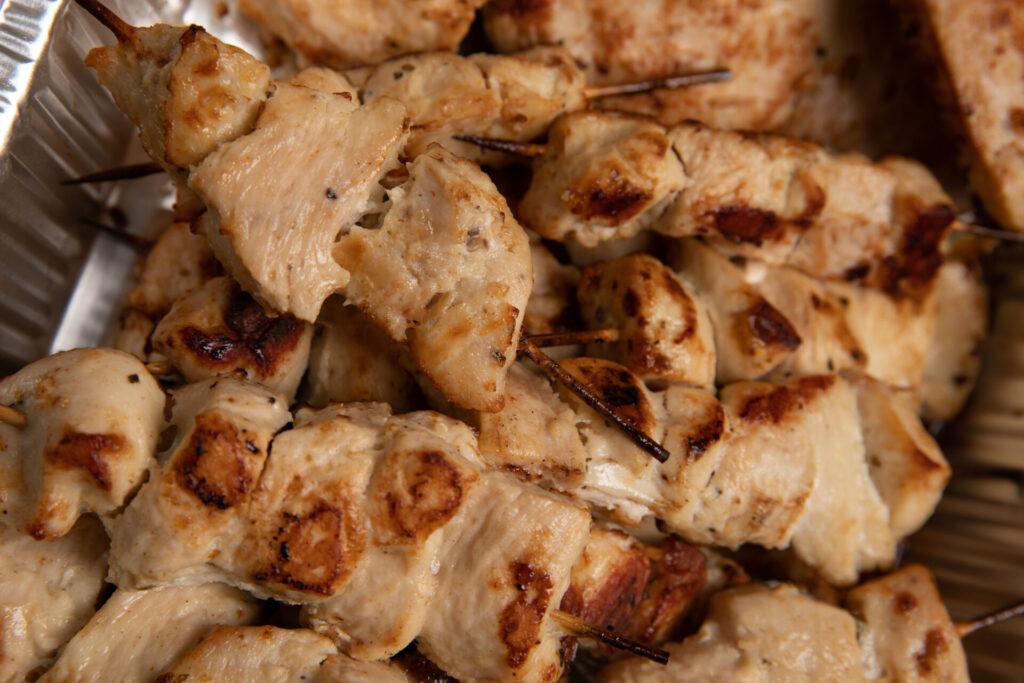 deniros catering chicken kebabs